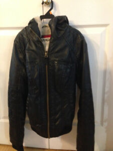 XS  Garage leather jacket