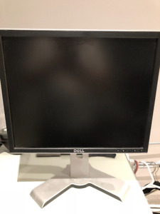 "Dell 19"" Computer Monitor Model 1908 FPb"