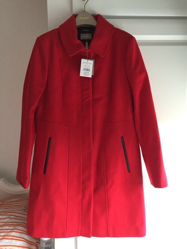 Ladies Red Coat - Planet - BNWT | in Leicester, Leicestershire ...