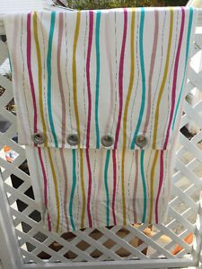 grommet curtains for a girls room