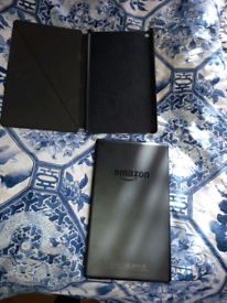 Amazon fire & case