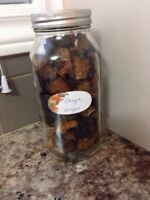 Ground chaga/ chunks of chaga