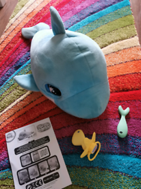 Blu Blu the Baby Dolphin - interactive pet toy
