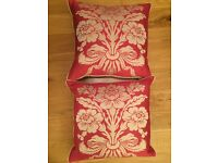 Laura Ashley cushions immaculate condition .