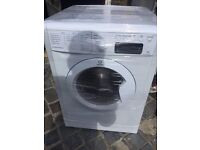 9KG INDESIT WASHING MACHINE, LED DISPLAY, EXCELLENT CONDITION, FREE INSTALLATION.