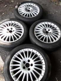"17"" Alfa Romeo 159 alloy wheels, Astra, Saab, Fiat 500x (301)"