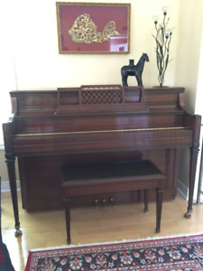 PIANO - Beautiful Yamaha M2GR4 077447 + bench