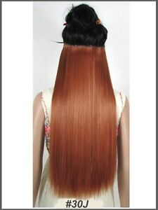 """Clip in hair extension,60 cm,24"""",NEW COLORS!!! AUBURN,COPPER RED St. John's Newfoundland image 2"""