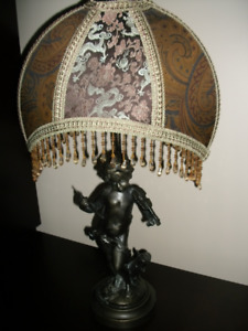 LAMPE DE TABLE EN BRONZE