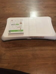 Wii fit ! 25$