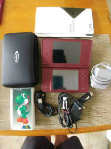 Nintendo Ds XL with 10 games and extras