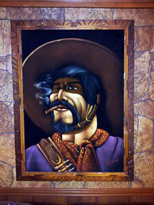 PONCHO VILLA PAINTING FROM THE 70'S VERY RARE