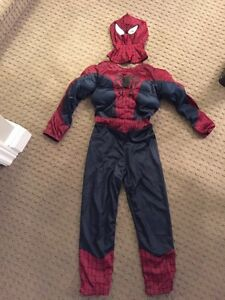 Spider-Man muscle reversible costume.