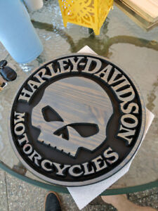 Harley Davidson Willy G Plaque