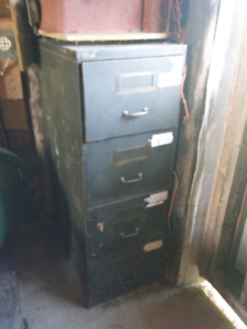 Four drawer file cabinet for sale