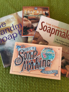 Soapmaking:  4 Great Books to Get You Started!
