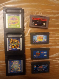 Gameboy Color and Gameboy Advance Games
