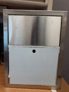 Huge Lot of Stainless Steel Commercial Bathroom/Kitchen Products