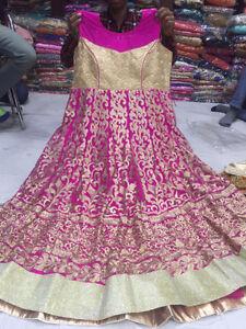 Indian/Pakistani dress (Anarkali, Straight, Fancy)