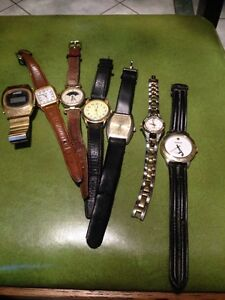 Watches 40$ for all they need batteries Oshawa