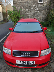 Audi Semi automatic 1.8T Sline spares or repair SOLD AS SEEN