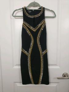 Bebe black dress - XS