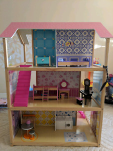 Doll house - wooden