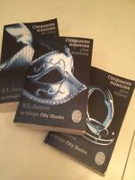 Livre trilogie Fifty shades of grey 50 nuances