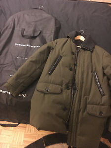Mackage long down coat (Brand New with tags)
