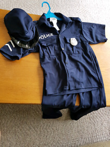 Selling child's police costume