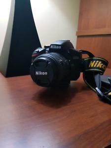 Nikon D3200 + 18-55mm Lens - Excellent Condition
