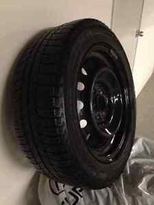 Four - Michelin X-ICE Winter tires on Rims