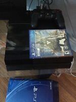 PS4 NEW 1 Month Old, Barely Used