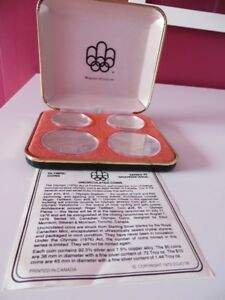 1976 OLYMPIC SILVER COIN SET