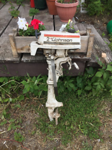 1977 2HP Outboard
