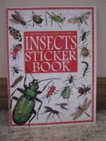 **NEW**  INSECT BOOK WITH STICKERS   **NEW**