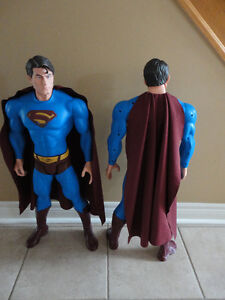 LARGE SUPERMAN MAN ACTION HERO FIGURINE STATUE TOY COLLECTIBLE London Ontario image 4
