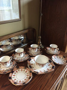 Colclough China tea set