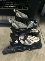 Women's K2 size 9 used once roller blades