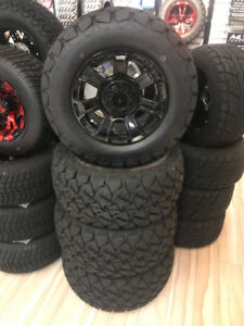 "Golf Cart Wheels - Brand New 12"" GTW Nemesis Rims and Tires"