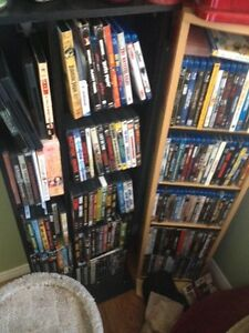 Selling over 100 movies DVD and Blu Ray $2.00 each!