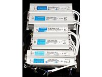 Brand New 12V 24V Waterproof IP67 Driver Power Supply Transformer Adapter Strip Light CCTV