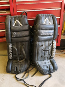 Bians Goalie Pads.  Good for Road Hockey