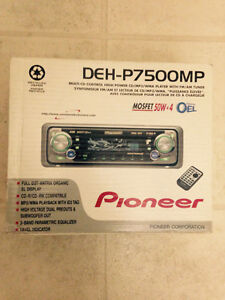 New old school PIONEER DEH-7500mp car  stereo 65.00