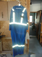 Electrician Arc Flash coveralls and Burndy crimp tool