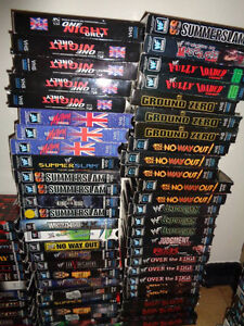 HUGE Wrestling Clearance Sale! WWE/TNA/WCW - VHS and DVD! London Ontario image 6