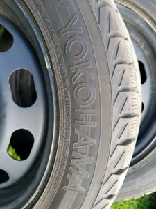 Winter tires and rims 205/55r16