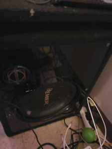 Subwoofer , vented box plus amp $200 obo