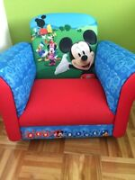 Toddler Mickey Mouse rocking chair- mint condition