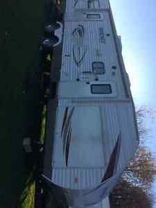 32 Ft Travel Trailer with Bunkhouse, 2011
